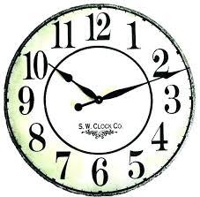 bedroom wall clocks next large kitchen clocks wall clocks big clock large kitchen inch french grand
