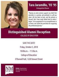 Distinguished Alumni Reception | NMSU College of Education | New Mexico  State University