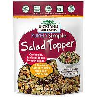 Rickland Orchard Purely Simple Salad Toppers (16 oz.) - Sam's Club | Salad  toppers, Easy salads, Dog food recipes