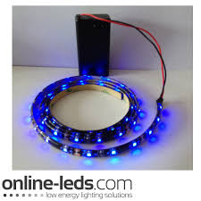 battery lighting solutions. 9V Battery Operated 1000mm Waterproof Led Strip Blue SMD3528 Picture 1 Lighting Solutions