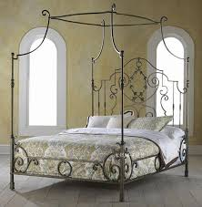 French wrought iron bed Manning bed frame bed mantle iron bed ...