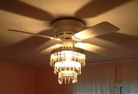 charming white iron with crystal and wood ceiling fan chandelier for living room decor marvelous copper with 8 light