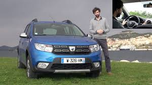 Dacia Sandero Stepway restylée 2017 [ESSAI VIDEO] : Stepway to ...