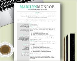 Creative Resume Templates For Mac