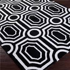 black and white geometric rug. black and white geometric rug