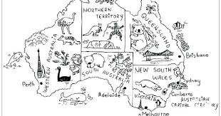 Australia Animals Coloring Pages Free Animal Colouring Sheets