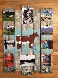 rustic picture frames collages.  Rustic Rustic Picture Collage FrameWood BoardRustic Message Board   Pinterest Collage Woods And Etsy To Frames Collages
