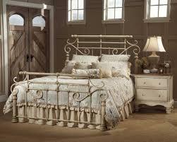 Metal Bedroom Furniture Set Hillsdale Wilshire Metal Bed Antique White 1172 Mtlbed