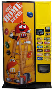 Chocolate Vending Machine Toy Gorgeous Refrigerated Candy Vending Machine For Sale