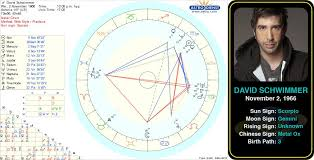 David Schwimmers Birth Chart David Lawrence Schwimmer Is