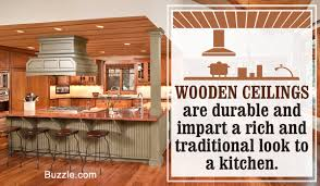 Wooden Ceilings types of ceilings for kitchens 4215 by guidejewelry.us