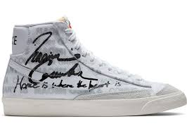 Nike blazer mid comme des garcons x naomi osaka. Nike Blazer Mid Comme Des Garcons X Naomi Osaka Da5383 100