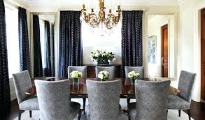blue dining rooms. living room and dining curtain ideas elegant solid color blue 2017 rooms