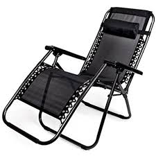 outdoor folding lounge chairs. Fine Lounge Zero Gravity Outdoor Folding Lounge Chair With Pillow Black And Chairs I