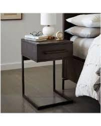 c shaped nightstand. Brilliant Nightstand West Elm Nash CShaped Nightstand Mineral  Nightstands Bedside Tables  Bedroom With C Shaped Nightstand