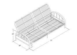 ideas of dorel home s futon assembly instructions details