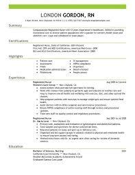 nursing skills resumes
