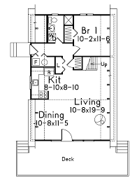 cabin cottage house plan first floor 008d 0142 house planore