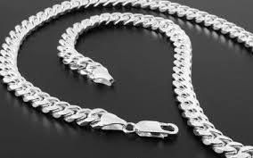 Image result for silver chain ends on chain