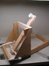 torsion catapult. the torsion catapult is complete