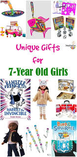 unique cool gifts for 7 year old girls kids 2016 best ideas