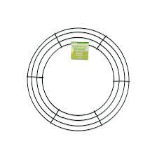 Amazon floracraft simplestyle 12 inch wire wreath green 13 rh amazon box wire wreath wire wreath forms