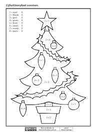 Materialen Pompom Schatkist Bekijknunl Cijfer Kleurplaat Kerst