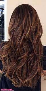 Chocolate Brown Hair Color With Caramel