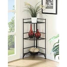 Living room organization furniture Small Lounge Corner Shelf Folding Organizer Storage Home Furniture Living Room Bookcase Stand Tier Corner Rack Shelf Amazoncom Amazoncom Corner Shelf Folding Organizer Storage Home Furniture