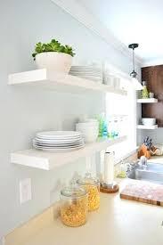 floating kitchen shelves floating kitchen shelves hanging floating shelves in our kitchen our projects best wood floating kitchen shelves