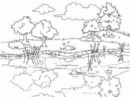 images of landscapes pics and coloring pictures of landscapes