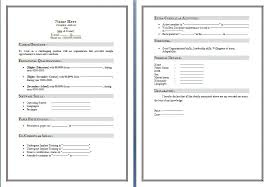 Templates In Ms Word 2010 Microsoft Word Resume Template 2010 Download Chaserpunk