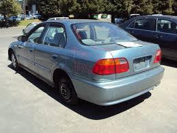 honda civic 2000 4 door. Interesting Honda 2000 HONDA CIVIC 4 DOOR SEDAN VP MODEL 16L AT FWD COLOR GREEN A13055 Inside Honda Civic Door E