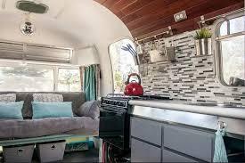 Airstream Interior Design Painting Simple Decoration