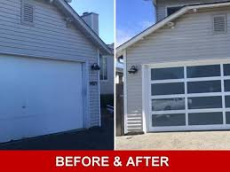 what a difference a new garage door can make