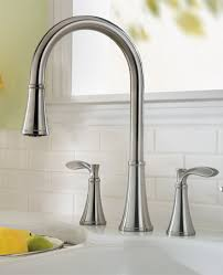 Pleasant Kitchen Sink Faucets At Home Depot Stunning Designing