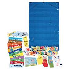 Pacon Calendar Weather Pocket Chart Amazon Com Pacon Calendar And Weather Pocket Chart 23 75