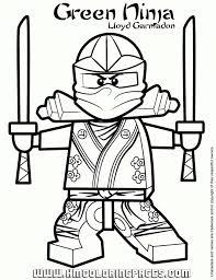 Lego Ninjago Coloring Pages Ninjago Coloring Pages 20 Free Printable