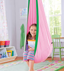 Wonderful Hanging Chairs For Bedrooms Kids Hugglepod Canvas Chair Modern Bedroom And Simple Design