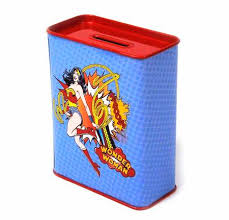 wonder woman home decor item details wonder woman money box