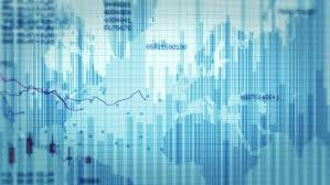 Declining Financial Chart Blue And Stock Footage Video 100 Royalty Free 11748332 Shutterstock