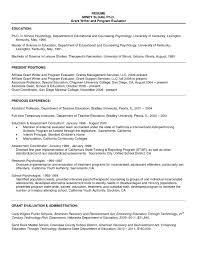 Sample Resume Undergraduate Teaching Assistant Refrence Resume