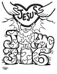 Images Of John 316 For Children To Color Google Search Kings