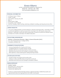 8 Best Cv Samples For Fresh Graduates Job Apply Letter