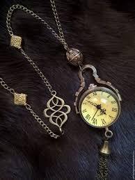 watches handmade livemaster handmade watch pendant crystal ball bronze