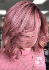Pink Hair Colour Chart 52 Charming Rose Gold Hair Colors How To Get Rose Gold Hair