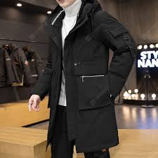 2020 <b>Autumn And</b> Winter Hooded Down Jacket Men's Casual ...