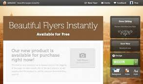 Online Flyer Maker For Free Create Beautiful Online Flyers With Smore For Free Free Web Design