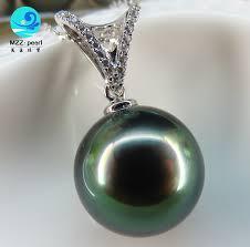 peacock green tahitian pearl pendant d jpg