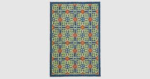 can outdoor rugs get wet for home decorating ideas new talavera tile indoor outdoor rug 8